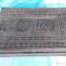 Antigüedades: CAJA DE MADERA GRAVADO. Lote 194210040