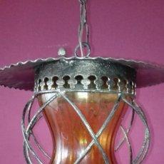 Antigüedades: LAMPARA FAROL DE TECHO. Lote 194211068