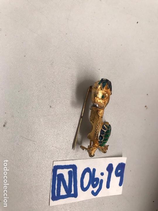 Antigüedades: Antiguo broche de pato - Foto 2 - 194211751