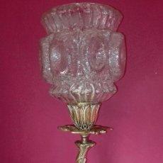 Antigüedades: ANTIGUA LAMPARA BRONCE . Lote 194211757