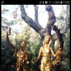 Antigüedades: FIGURAS DE ODALISCA. Lote 194211987