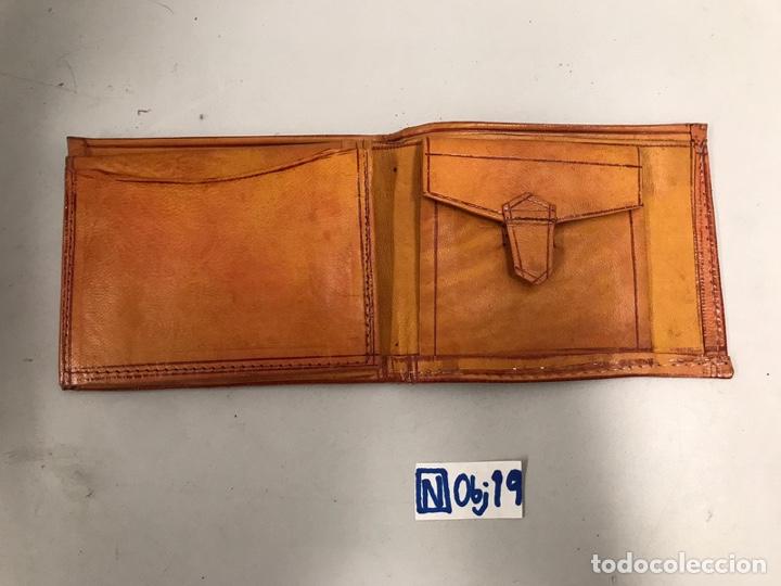 Antigüedades: Cartera de cuero - Foto 2 - 194212336