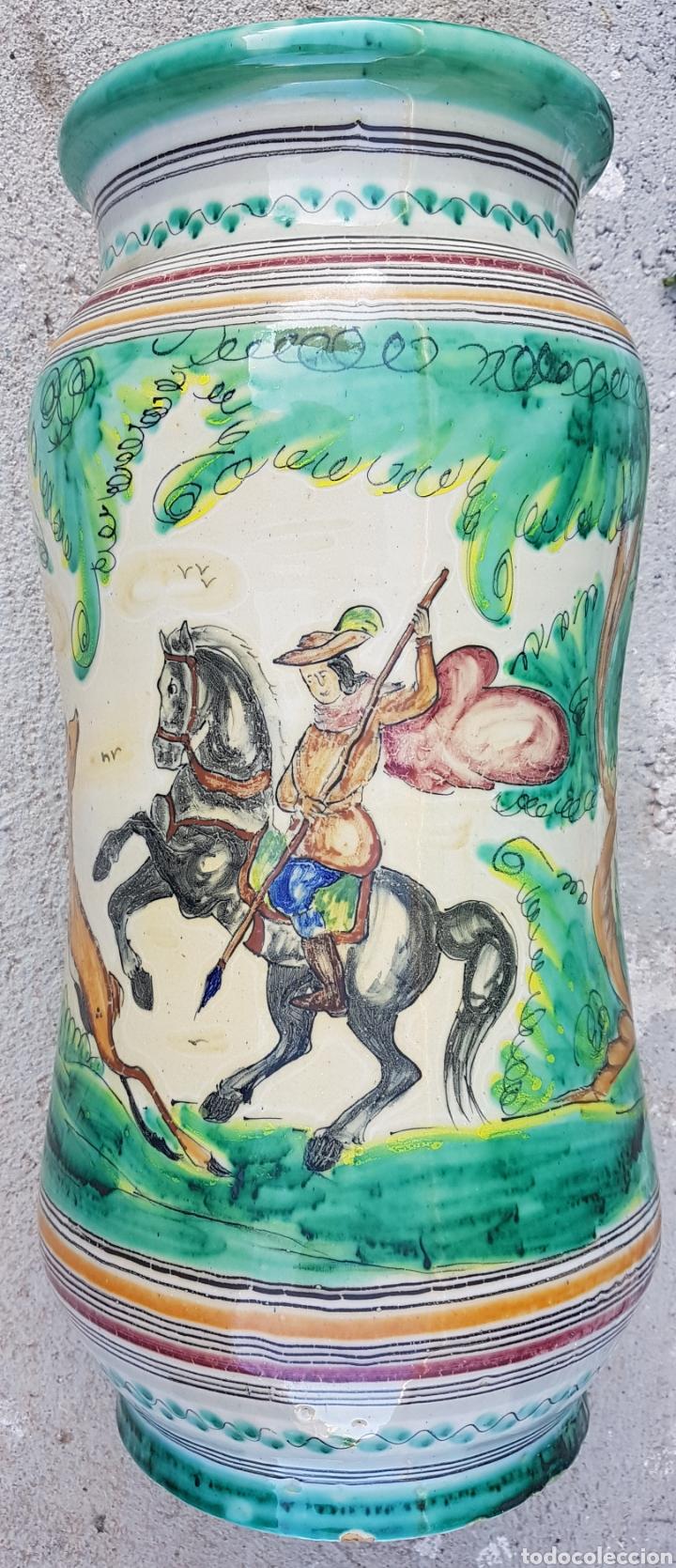 GRAN JARRON PARAGUERO CERAMICA TALAVERA (Antigüedades - Porcelanas y Cerámicas - Talavera)