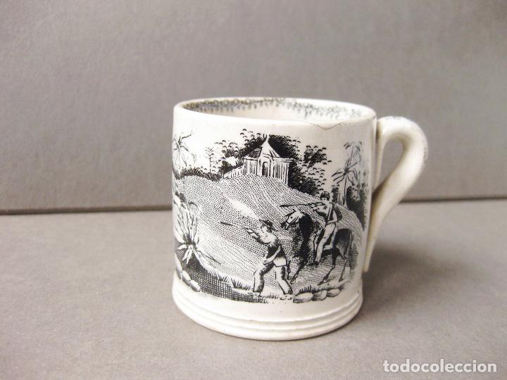 TAZA DE LOZA DE SARGADELOS O PICKMAN (Antigüedades - Porcelanas y Cerámicas - Sargadelos)