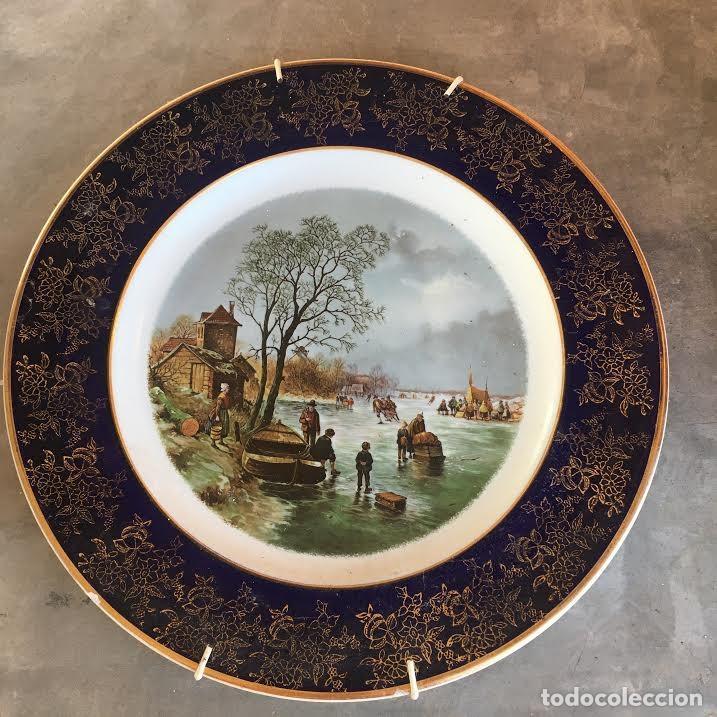 PLATO DECORATIVO WEATHERBY - (Antigüedades - Porcelanas y Cerámicas - Inglesa, Bristol y Otros)