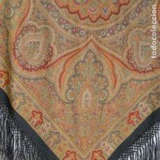 Antigüedades: MANTON ESTAMPADO - IMPRESO. Lote 194221611