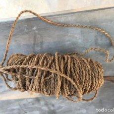 Antigüedades: ROLLO DE CORDEL ANTIGUO . Lote 194221845