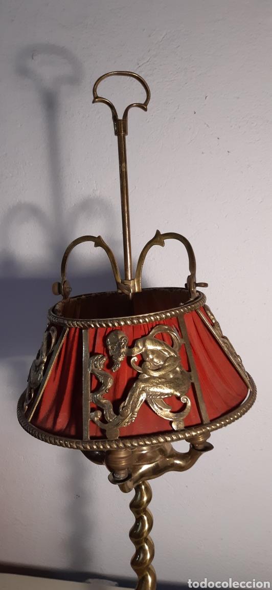 Antigüedades: Lampara de latón - Foto 2 - 194222780