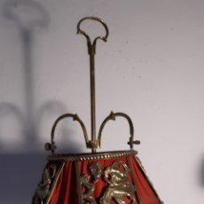 Antigüedades: LAMPARA DE LATÓN. Lote 194222780