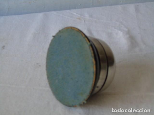 Antigüedades: Timbre Antiguo de Despacho Hotel sobremesl timbre a cuerda mecanismo tipo reloj FUNCIONA - Foto 5 - 194227666