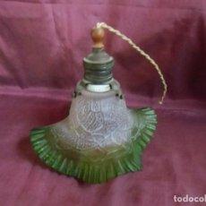Antigüedades: ANTIGUA LAMPARA DE TECHO.TODO ORIGINAL,AÑOS 20,PRECIOSA TULIPA.. Lote 194229078