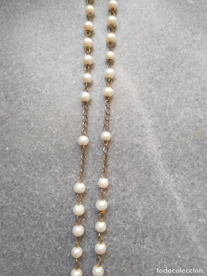 Antigüedades: Antiguo rosario de perlas - Foto 21 - 194229563