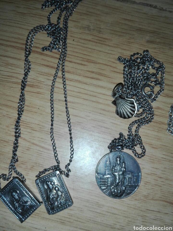 Antigüedades: Lote objetos religiosos - Foto 2 - 194230083