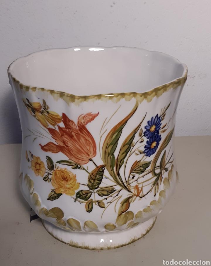 Antigüedades: Jardinera de porcelana - Foto 3 - 194232576