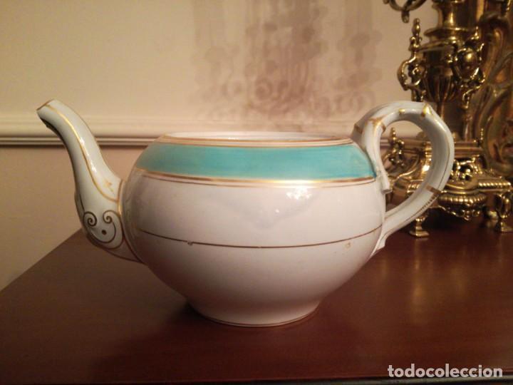 ANTIGUA TETERA PICKMAN MEDALLA 1862 (Antigüedades - Porcelanas y Cerámicas - La Cartuja Pickman)