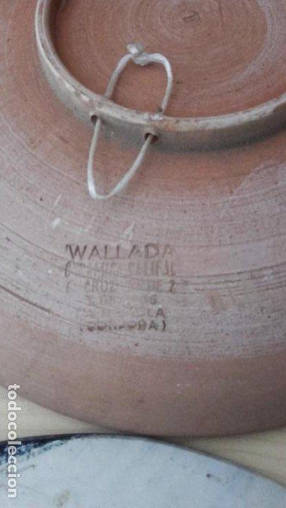 Antigüedades: LOTE 11 PLATOS PORCELANA PARA COLGAR. TODOS FIRMADOS. MANISES, MUEL... - Foto 11 - 194236821