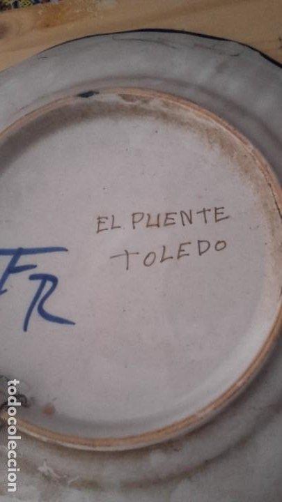Antigüedades: LOTE 11 PLATOS PORCELANA PARA COLGAR. TODOS FIRMADOS. MANISES, MUEL... - Foto 17 - 194236821