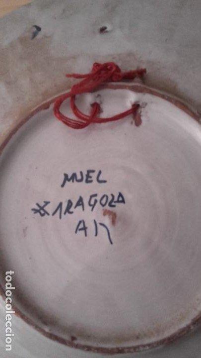 Antigüedades: LOTE 11 PLATOS PORCELANA PARA COLGAR. TODOS FIRMADOS. MANISES, MUEL... - Foto 18 - 194236821