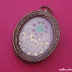 Antigüedades: RELICARIO MEDALLA ANTIGUO.. Lote 194237040
