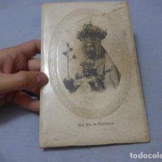 Antigüedades: * ANTIGUO MARCO DE LA MORENETA, VIRGEN DE MONTSERRAT, MEDIADOS SIGLO XX, ORIGINAL. ZX. Lote 194237931