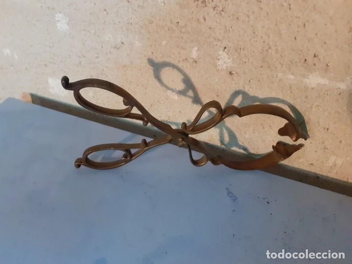 Antigüedades: Pinzas antíguas de cobre para cocina pasteleria - Foto 4 - 194239443