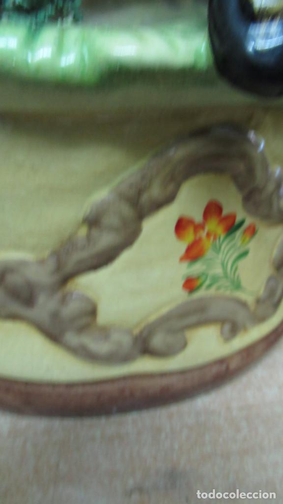 Antigüedades: bonita figura de mujer Ceramica . gran tamaño. sin sello de fabricante.54 cm de alto - Foto 4 - 194241830