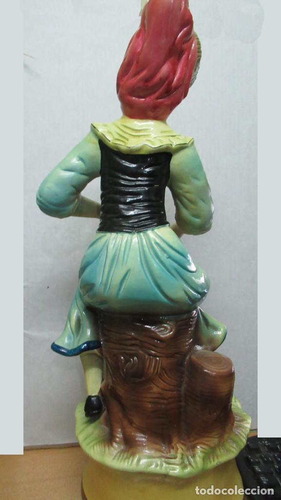 Antigüedades: bonita figura de mujer Ceramica . gran tamaño. sin sello de fabricante.54 cm de alto - Foto 5 - 194241830