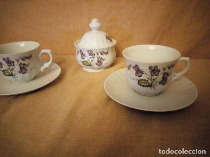 Antigüedades: Precioso tu y yo con azucarero de desayuno porcelana wunsidiedel rosenthal bavaria germany - Foto 2 - 194243788