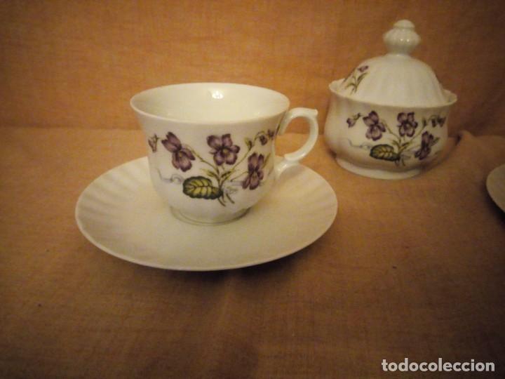 Antigüedades: Precioso tu y yo con azucarero de desayuno porcelana wunsidiedel rosenthal bavaria germany - Foto 3 - 194243788