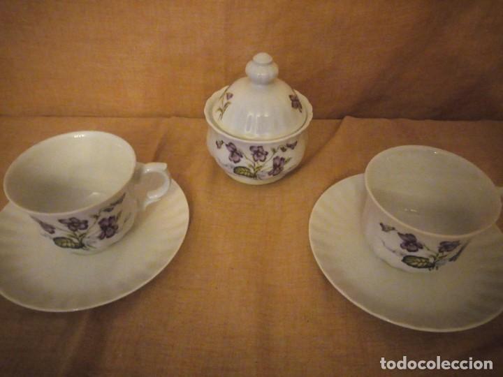 Antigüedades: Precioso tu y yo con azucarero de desayuno porcelana wunsidiedel rosenthal bavaria germany - Foto 4 - 194243788