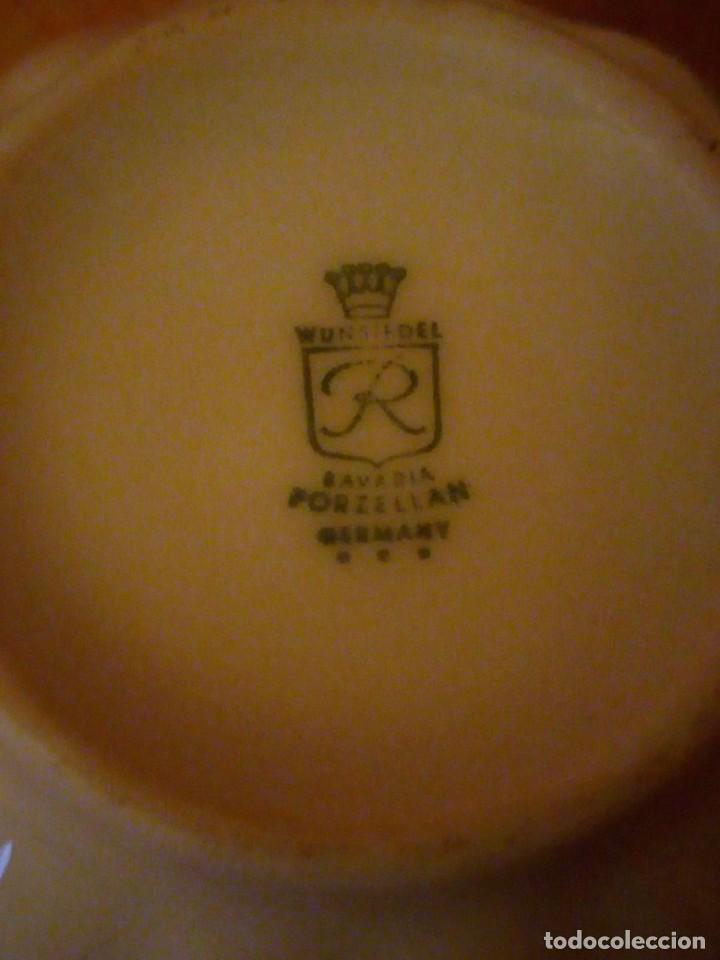Antigüedades: Precioso tu y yo con azucarero de desayuno porcelana wunsidiedel rosenthal bavaria germany - Foto 5 - 194243788