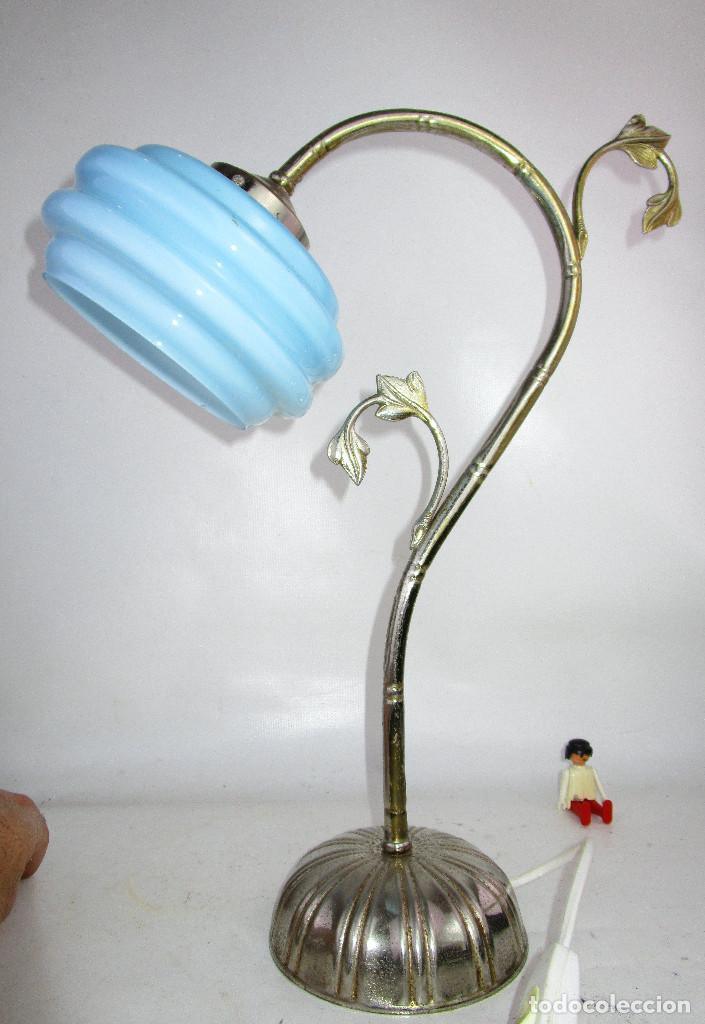 Antigüedades: PRECIOSA LAMPARA ART DECO MODERNISTA - Foto 3 - 194244553