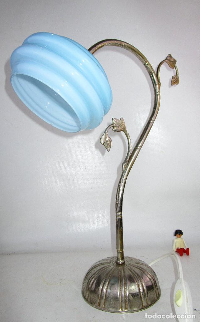 Antigüedades: PRECIOSA LAMPARA ART DECO MODERNISTA - Foto 6 - 194244553
