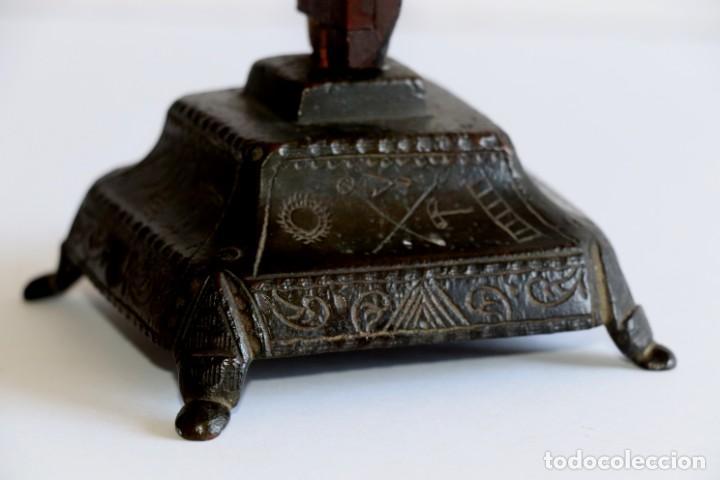 Antigüedades: Cruz de mesa - Foto 4 - 194249098