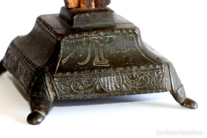 Antigüedades: Cruz de mesa - Foto 5 - 194249098
