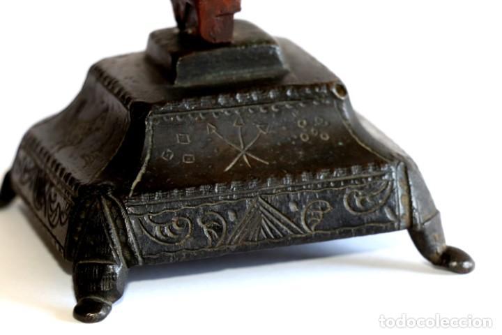 Antigüedades: Cruz de mesa - Foto 6 - 194249098
