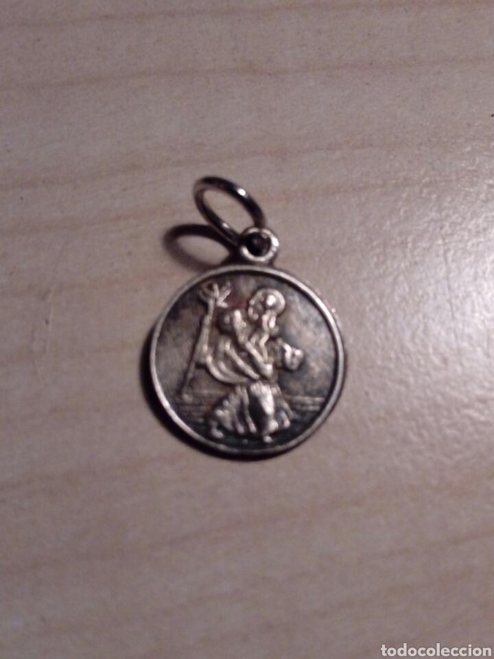 SENCILLA MEDALLA DE SAN CRISTÓBAL - METÁLICA .CHRISTOPHER (Antigüedades - Religiosas - Medallas Antiguas)