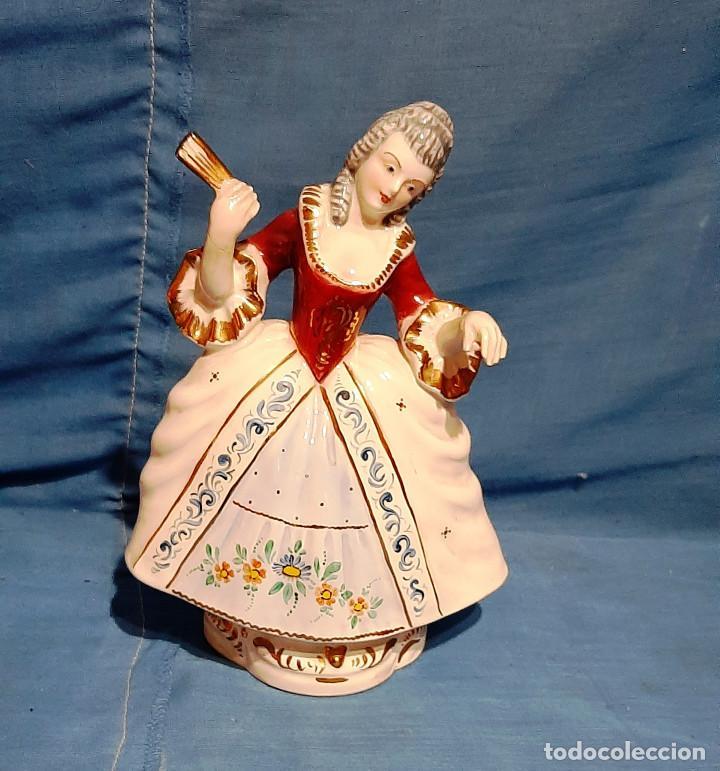Antigüedades: FIGURA CERAMICA J.PUJOL 1930....... - Foto 2 - 194249980