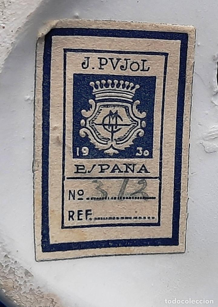 Antigüedades: FIGURA CERAMICA J.PUJOL 1930....... - Foto 7 - 194249980