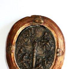 Antigüedades: MEDALLÓN ALEMÁN SIGLO XVIII. Lote 194250317