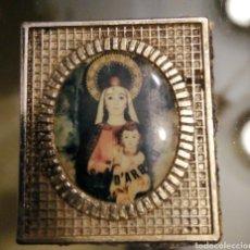 Antigüedades: IMAGEN VINTAGE DE LA VIRGEN DE ARBOLO-NOGUERA PALLARESA-MONTARDIT-LÉRIDA-LLEIDA SALPICADERO COCHE. Lote 194250641
