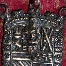 Antigüedades: ESCUDO HERÁLDICO SIGLO XVIII. Lote 194250646