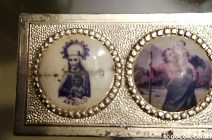 IMAGEN VINTAGE DE LA SAN CRISTOBAL VIRGEN DE ARBOLO-NOGUERA PALLARESA-MONTARDIT-LÉRIDA-LLEIDA S (Antigüedades - Religiosas - Varios)