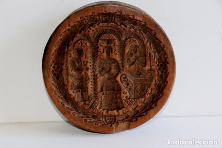 MOLDE DE ARCILLA SIGLO XVIII (Antigüedades - Varios)