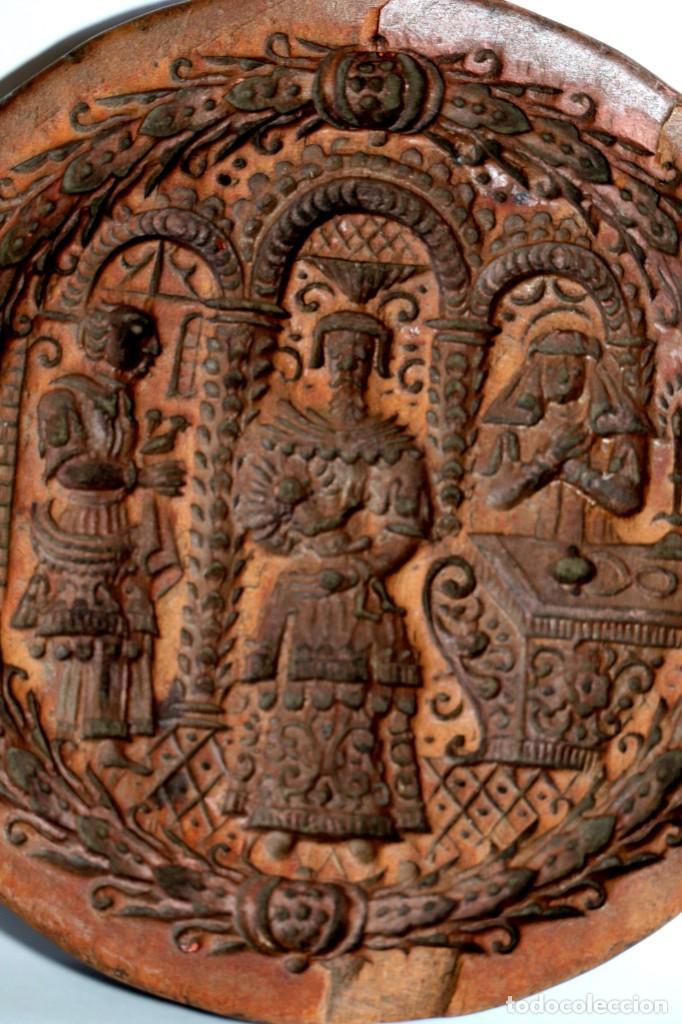 Antigüedades: Molde de arcilla siglo XVIII - Foto 2 - 194252566