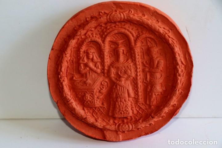 Antigüedades: Molde de arcilla siglo XVIII - Foto 3 - 194252566