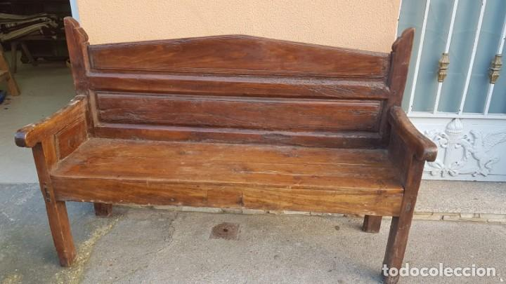 Antigüedades: Escaño zamorano muy acogedor - Foto 4 - 194253786
