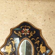 Antigüedades: ESPEJO ANTIGUO ART DECO PAN DE ORO NECESITA UNA PEQUEÑA RESTAURACION. Lote 194255126