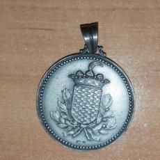 Antigüedades: MEDALLA ESCUDO TARRAGONA-REVERSOGRAVADO RECOGNOVERUNT PROCERES. Lote 194270467