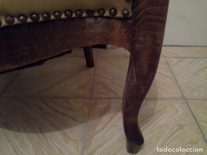 Antigüedades: SILLON ISABELINO - Foto 5 - 194271635